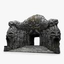 cave entrance 3D models