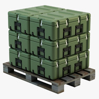 Military Case on Pallet