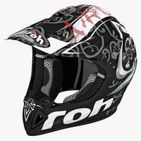 Motocross Helmet Airoh Stelt Black
