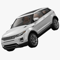 3d land rover range evoque