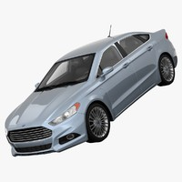 fusion se hybrid fwd 3d model