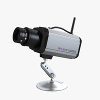 cctv ip security protection 3d model