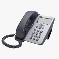 3d cisco telephone model