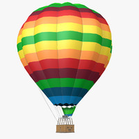 3d model air balloon
