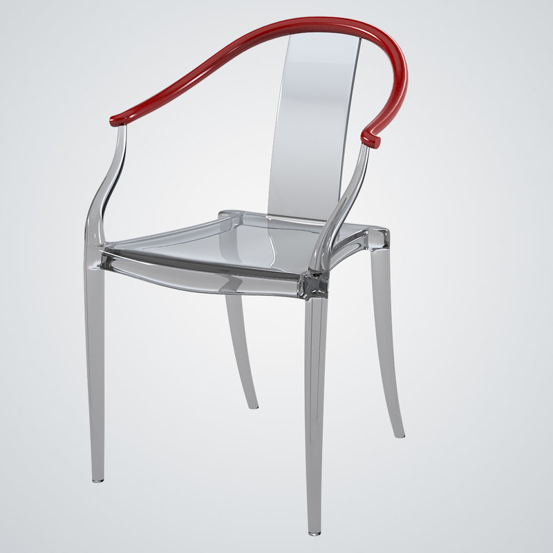 Mi ming philippe starck 3d model for Chaise xo starck