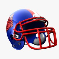 3d football helmet