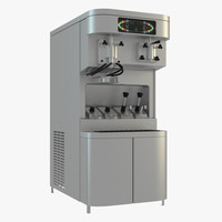 ice cream machine 3d model