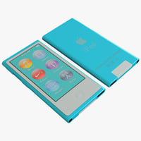 Ipod Nano Generation 7th Blue