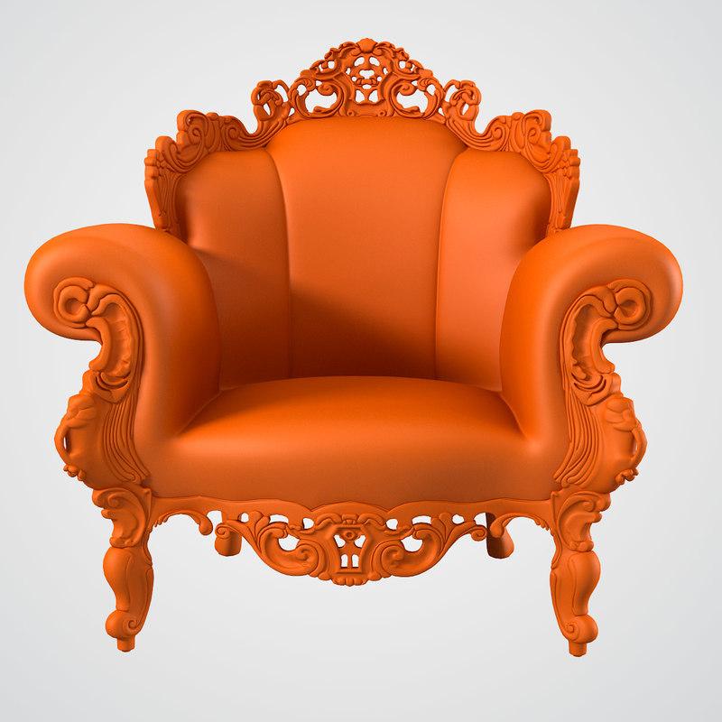 b Magis Proust Armchair Alessandro Mendidi Studio Alchimia Poltroda di rocolo carved luxury0001.jpg