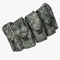 3d military mag utility pouch