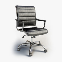 3d model office chair ch-994axns