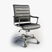 3d model office chair ch-994axns
