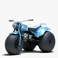 3d atv honda us90 model