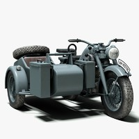 Zundapp KS 750 German Motorcycle