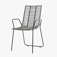 3d model elba chair