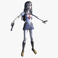 Anime Android Schoolgirl Assassin