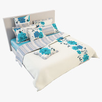 3d model bedcloth 15