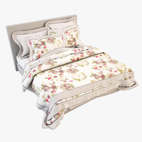 bedcloth bed 3d model
