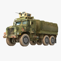 max oshkosh mtvr military truck