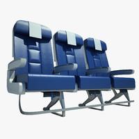 3d economy seat model