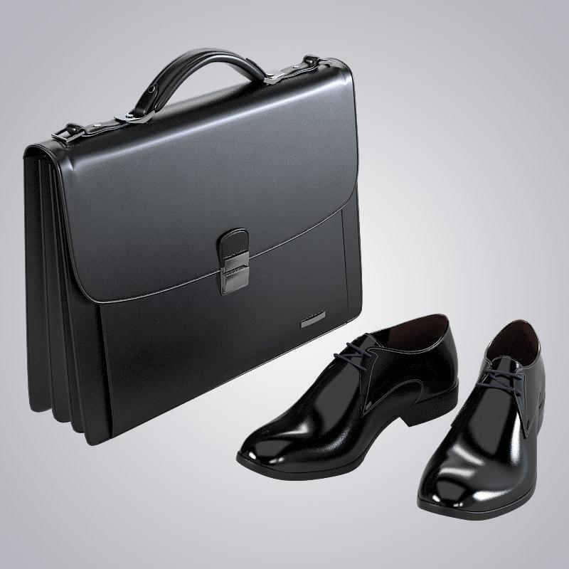 b Buisnessmen Clothing set choes bag briefcase classic brief case boot classical luxury elegant0001.jpg