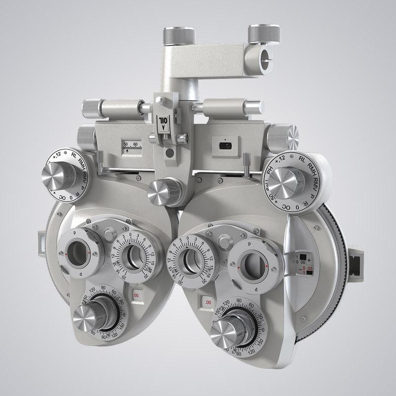 b Phoropter optometry instrument eye medicine diagnostic medical doctor hospital glasses lens 0001.jpg