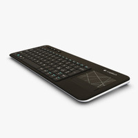 logitech less keyboard k400r obj