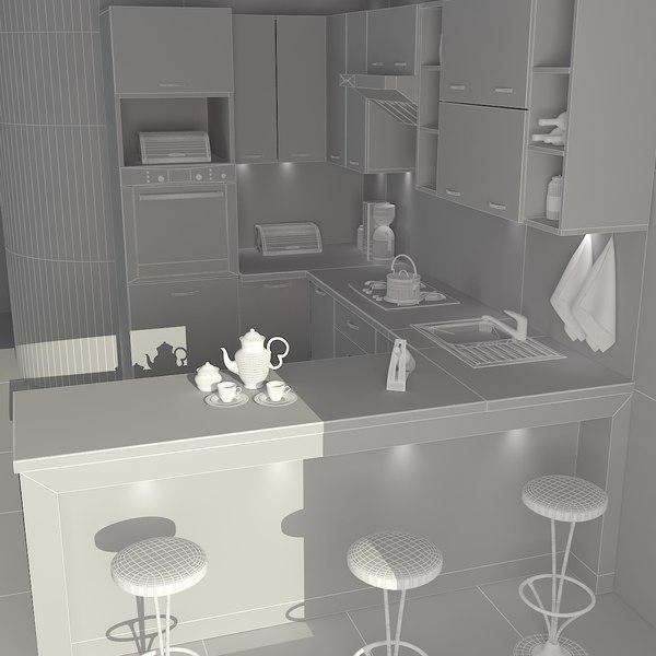 Kitchen room max for Kitchen room model