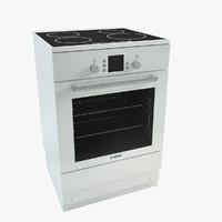 3d model bosch oven