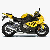bmw s1000rr sport bike 3d 3ds