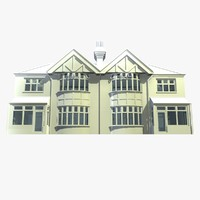 British 2 Story Semi Detached House Unit 10