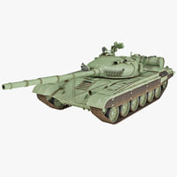 Soviet Union Main Battle Tank T-72