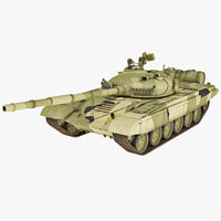 Soviet Union Main Battle Tank T-72 v2