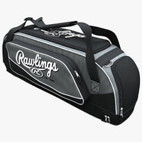3d baseball equipment bag
