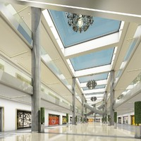 shopping mall 3 3d ma