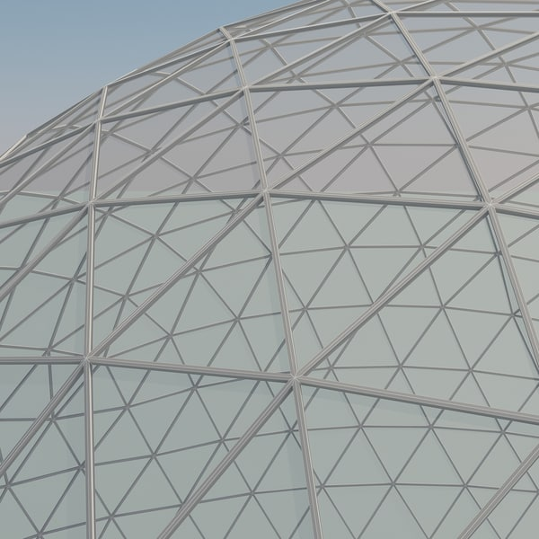 how to make a geodesic dome model