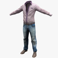 3ds male casual clothes