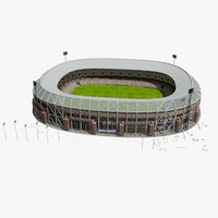 3d rotterdam stadium
