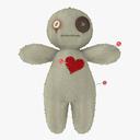 voodoo doll 3D models