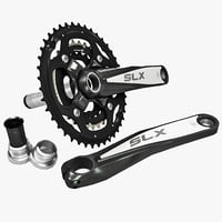 bicycle crankset shimano m660 3d