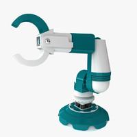 3d max robotic claw