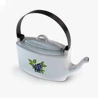 teapot tea 3d lwo
