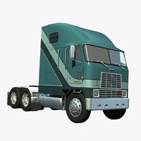 3d lwo international 9670 truck aerocover