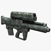3ds max grenade launcher xm25 2