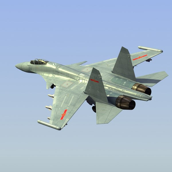 shenyang j15 flying shark 3d 3ds