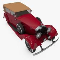 rolls royce classic 3d model