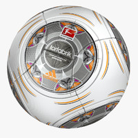 torfabrik 2014 soccer ball 3d model