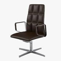3d model walter knoll swivel leadchair