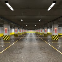 Underground Parking Without Cars