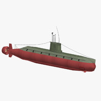 north submarine sang-o class 3d model
